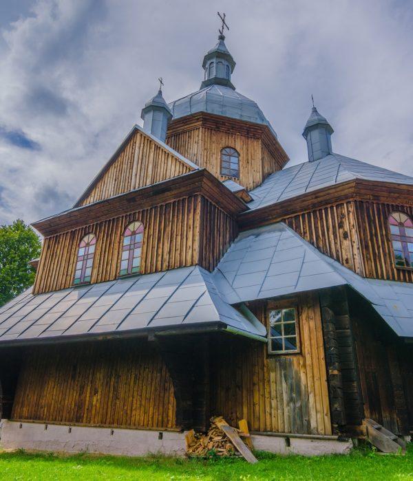 Cerkwie drewniane podkarpackiego roztocza
